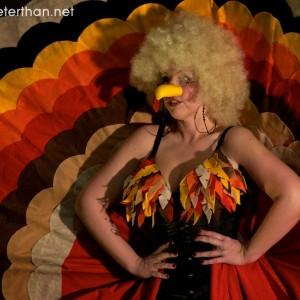 Turkey Lady!