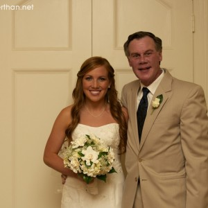 Cameron and her dad